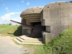 Les défenses de la batterie allemande de Longues