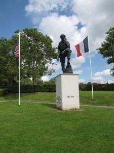 Statue d'Iron Mike à la Fière