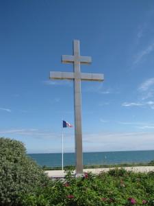 Croix Lorraine Graye-sur-Mer