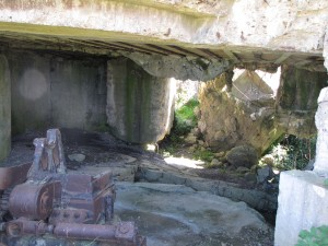 Blockhaus détruit à Longues-sur-Mer