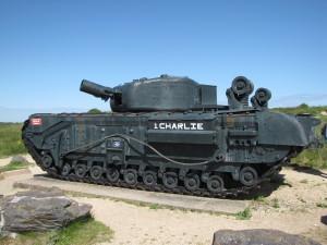 Char Churchill Graye-sur-Mer
