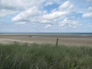 une plage normande aujourd'hui