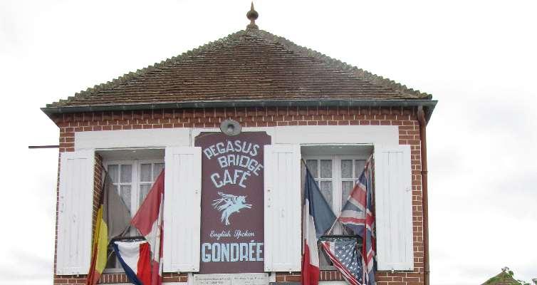 café Gondrée première maison libérée de France