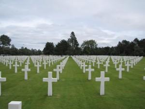 le cimetière américain de Colleville