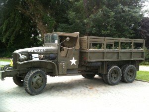 Une des jeeps du musée Airborne