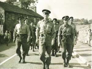 commandant Philippe Kieffer et son commando