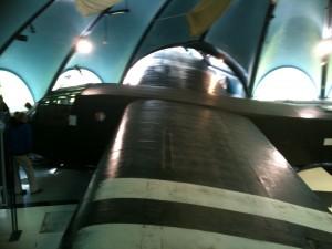 Un des planeurs du musée Airborne