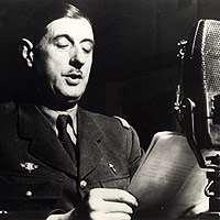 Le Général De Gaulle au micro de la BBC