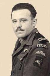 Émile Bouétard, sous l'uniforme des SAS