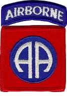 """Insigne de la 82e Airborne, les """"All American"""""""