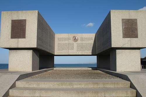 monument de la garde US Vierville