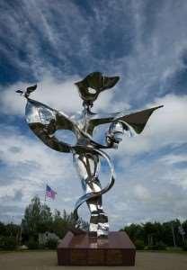 statue de la paix Grandcamp