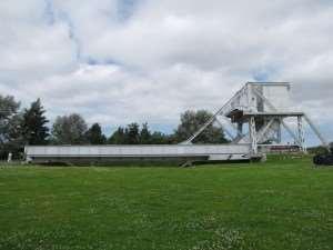 Le pont Pegasus Bridge au musée