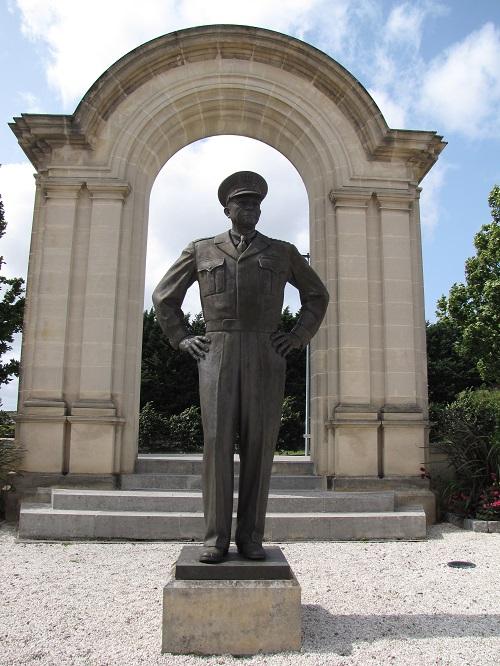 Statue Eisenhower